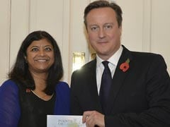 Indian-Origin Campaigner Awarded by David Cameron for Charity Work
