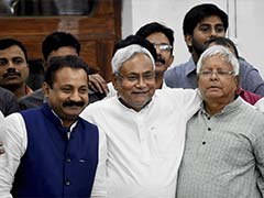 Nitish Kumar Elected Leader of Grand Alliance Legislature Party
