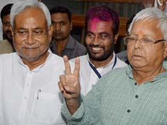 More Ministers For Lalu in Nitish Formula; Oath Likely On November 20
