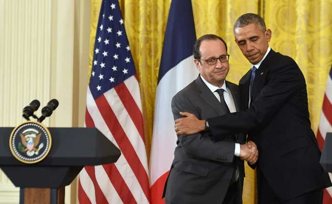 Hollande and Obama Vow Unity Against ISIS, Appeal to Russia