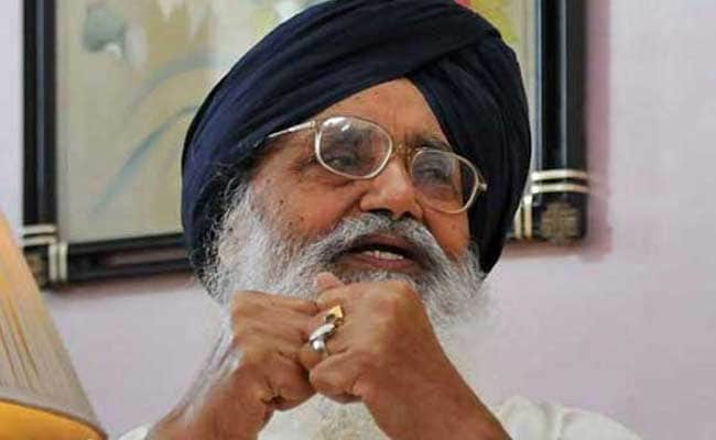 Incidents Like Pathankot Attack Must Be Dealt With Heavy Hand: Parkash Singh Badal
