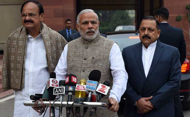 What did Modi said to Media outside Parliament ahead start of Monsoon session