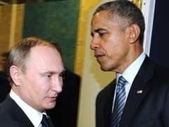 Barack Obama Urges Vladimir Putin To End Air Strikes Against Syrian Opposition: White House