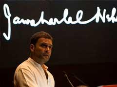 'Congress Will Smash RSS,' Says Rahul Gandhi