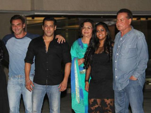 Salman Khan family Photos - The Times of India Photogallery