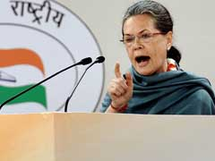 Government Working to 'Dismantle' Legacy of Congress: Sonia Gandhi