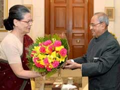 Hours After PM Modi's Attack on 'Tolerance', Sonia Gandhi Meets President