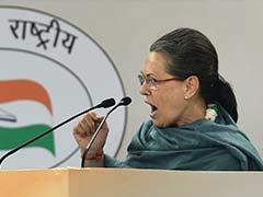 Congress Chief Sonia Gandhi Expresses Shock Over Paris Terror Attacks
