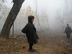 Minimum Temperature Stays Below Zero in Kashmir Valley