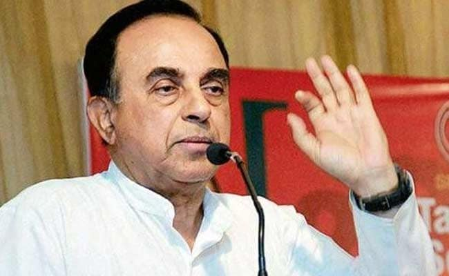 Ram Temple Work Could Start This Year-End: Subramanian Swamy