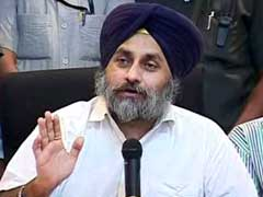 Contest For Punjab Polls Only Between Us And Congress, Says Sukhbir Badal