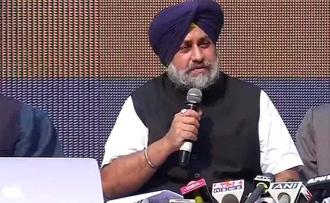Need To See Pathankot Attack As Act Of 'Foreign Aggression': Sukhbir Singh Badal