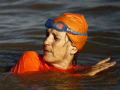 Dutch Ambassador Swims Nile at Khartoum for Facebook Bet