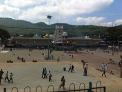 Sunshine and Pilgrims Return to Tirumala Temple in Andhra Pradesh