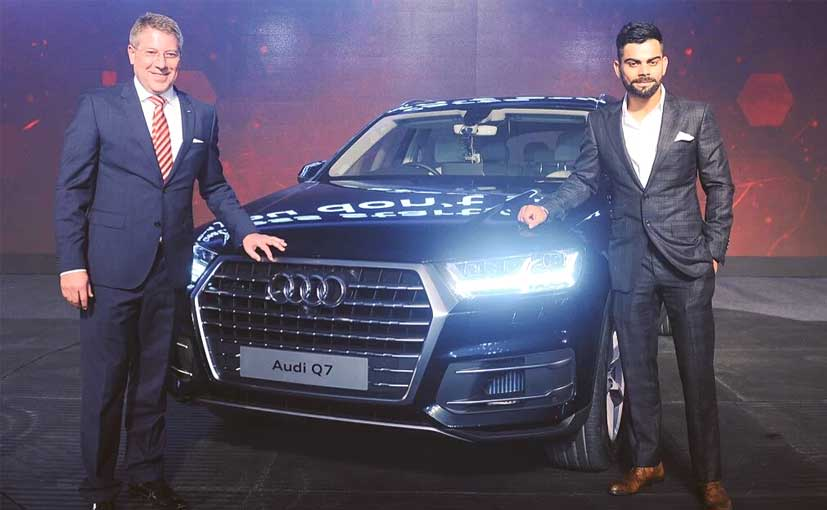 2016 audi q7 launched in india prices start at rs 72 lakh ndtv carandbike. Black Bedroom Furniture Sets. Home Design Ideas