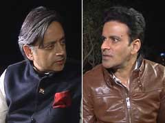 Shashi Tharoor, Manoj Bajpayee United in Gay Rights Cause