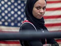 Muslim Girl Fighting To Box While Wearing A Hijab