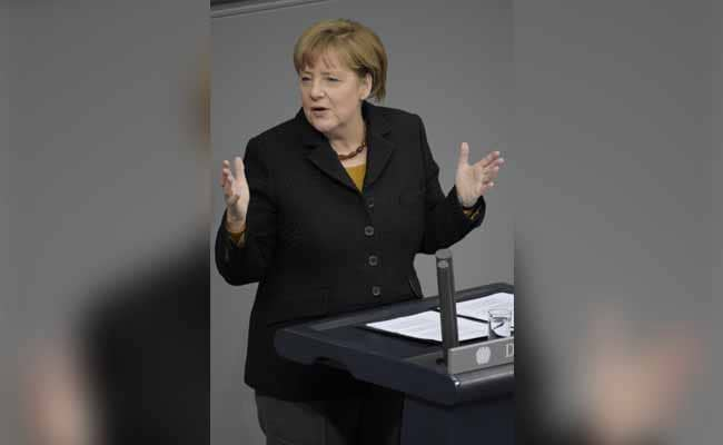 Determined Angela Merkel Tells Germans: Refugee Influx 'An Opportunity'