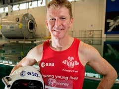 An Astronaut is Running the London Marathon From Space