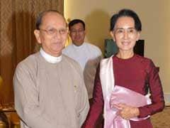 Myanmar President Hails 'Triumph' Of Democratic Transition