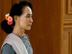 Myanmar's Aung San Suu Kyi Says Peace Talks Will Be Priority