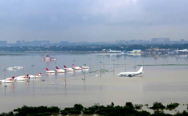 Chennai Airport Is Doomed to Suffer, Its Runway Is Built On River