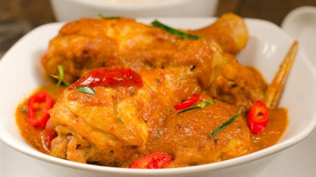 chicken do pyaza