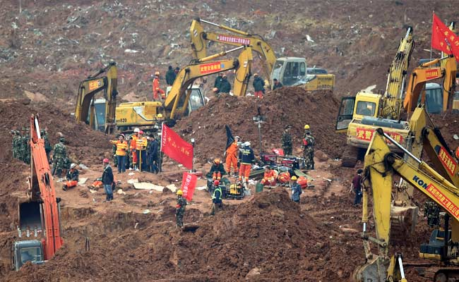 Number Of Deaths Rises To 58 In Southern China Landslide