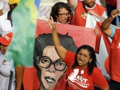 Crowds March Against 'Coup' Targeting Brazil's President