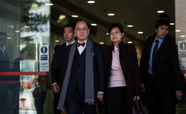 Hong Kong Former Leader Pleads Not Guilty Over Corruption