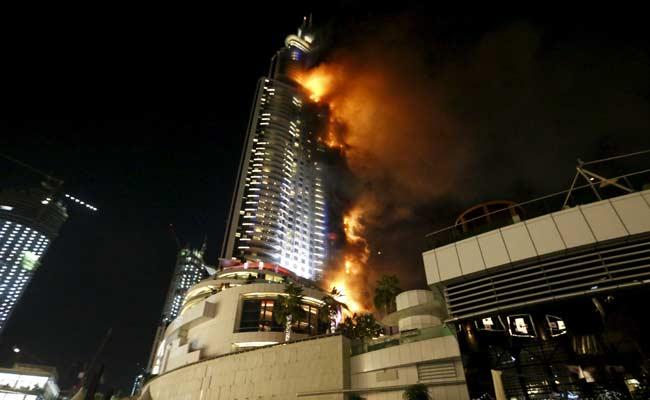 Huge Fire Engulfs 63-Storey Dubai Hotel Ahead Of New Year Celebrations, 16 Injured