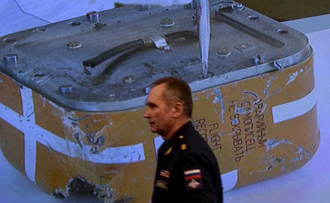 Russia Experts Examine Black Box Of Jet Downed By Turkey
