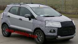 Possible Next-Gen Ford EcoSport Caught Testing in America; Might Come to India