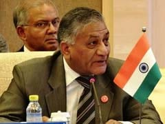 Union Minister VK Singh Hits Back, Questions Conduct of Opposition