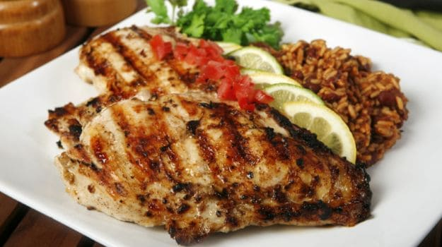 grilled chicken 625