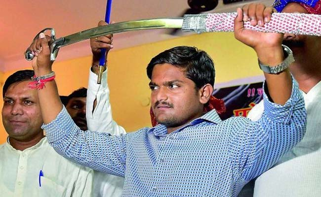 Gujarat Police Files Sedition Chargesheet Against Hardik Patel