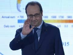 French President to Visit Aircraft Carrier Off Syria: Office