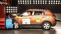 Hyundai Creta Gets 4-Star Rating in Latin NCAP Crash Test