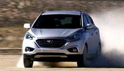 Hyundai Tucson Fuel Cell Car Sets New Land Speed Record