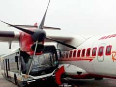 Sleeping Jet Airways Bus Driver Rams Air India Plane in 'Rs 400 Cr Crash'