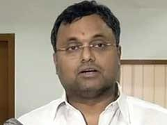 Karti Chidambaram's Office Searched By Enforcement Directorate
