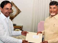 KCR And Chandrababu Bond Over Fish Curry And An Invite