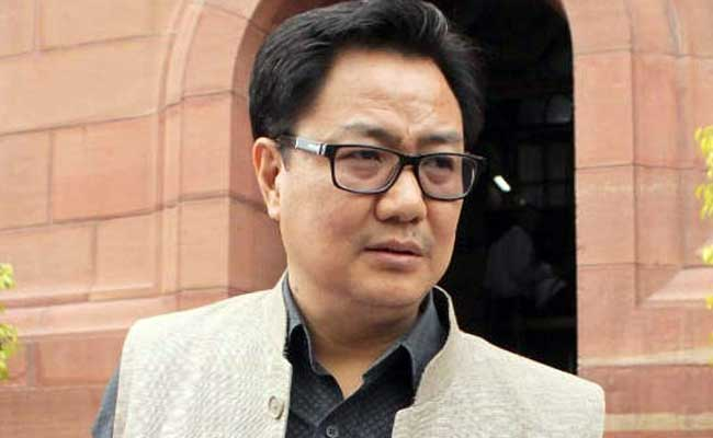 Credible Information That Pathankot Attack Hatched In Pakistan: Kiren Rijiju
