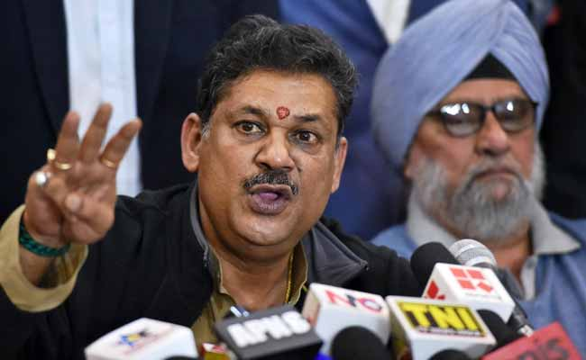Suspended BJP Lawmaker Kirti Azad Addresses Media: Highlights