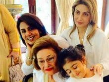 Raj Kapoor wifes Krishna Raj Kapoor admitted in hospital