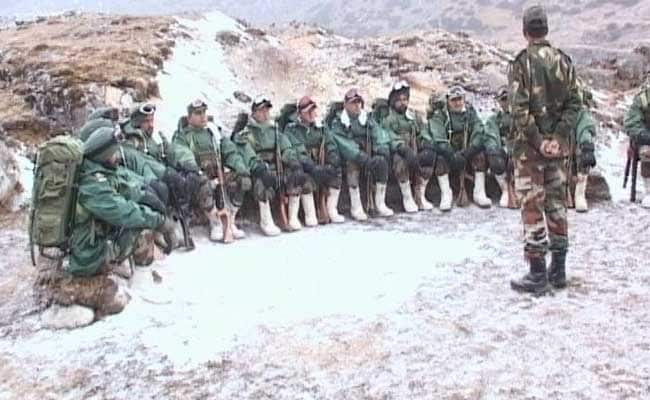 Image result for indian troops cross in china pics