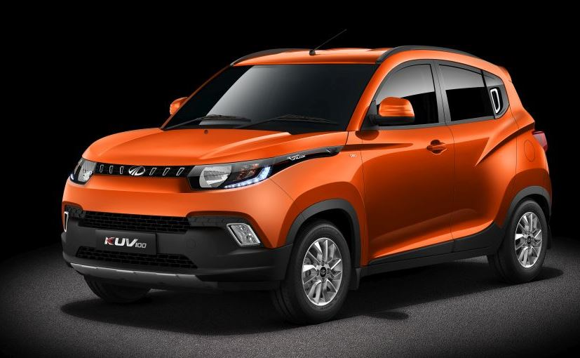 mahindra kuv 100 side profile