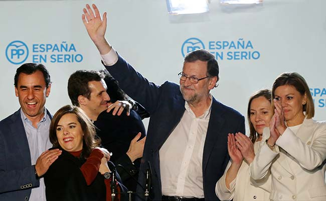 Spain's Left-Wing Parties To Block Mariano Rajoy-Led Government