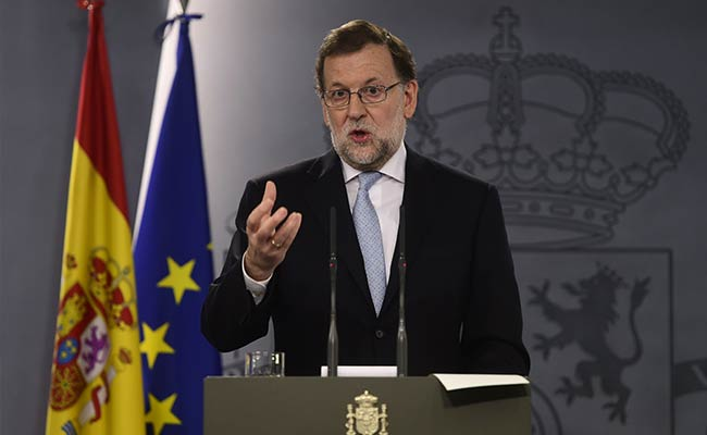 Spanish PM Mariano Rajoy Says Will Fight For Spain Unity Ahead Of Catalan Leader Vote