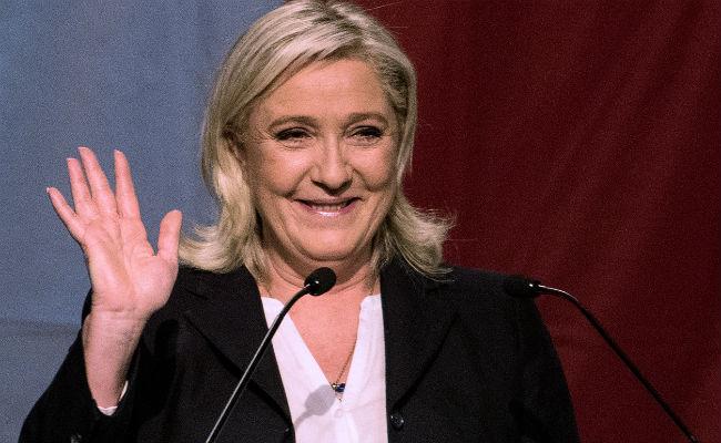 Marine Le Pen. (AFP)